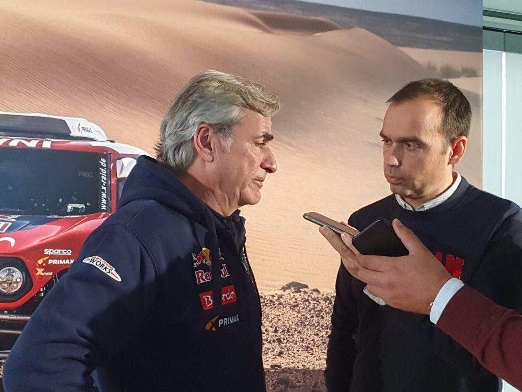 Entrevista Carlos Sainz