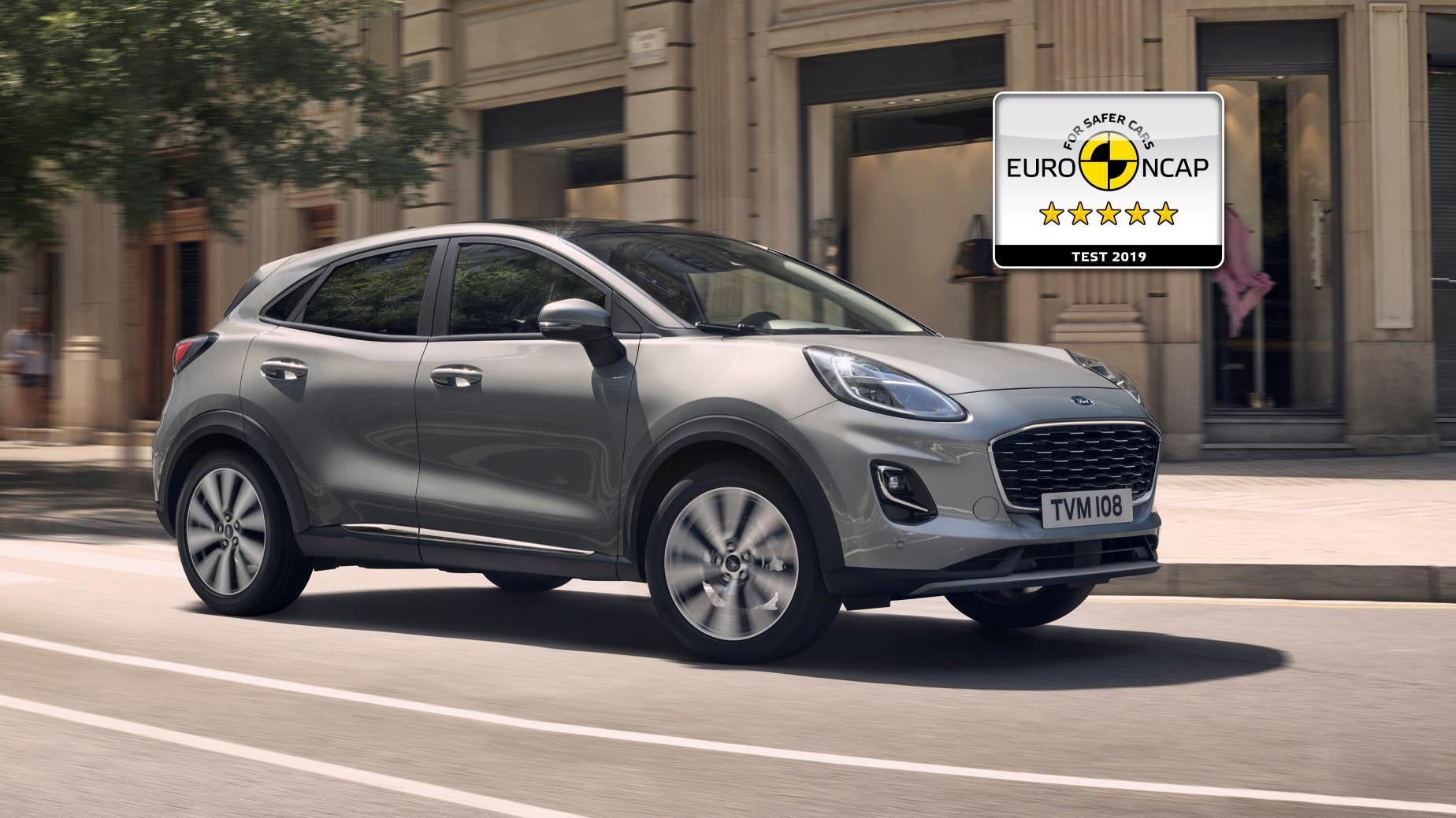 VÍDEO: Ford Puma, cinco estrellas Euro NCAP