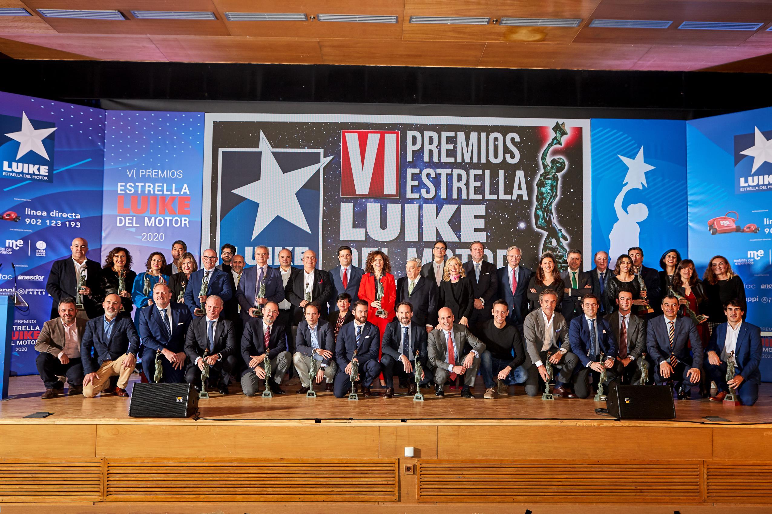 Premios Luike Estrella del Motor 2020