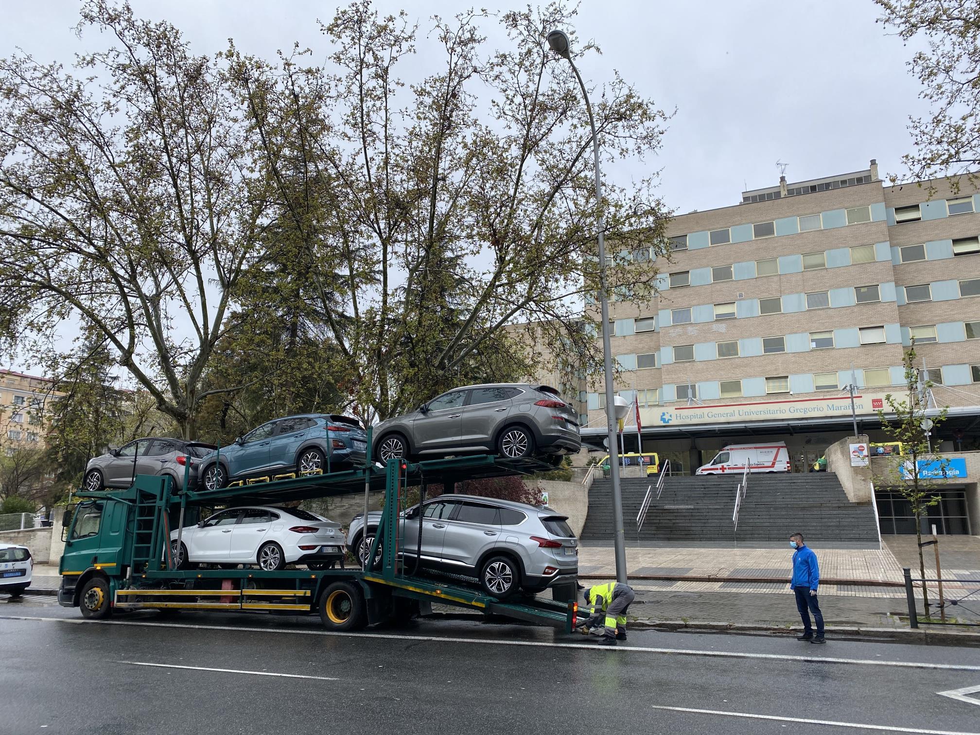 Hyundai España cede su flota a los sanitarios españoles