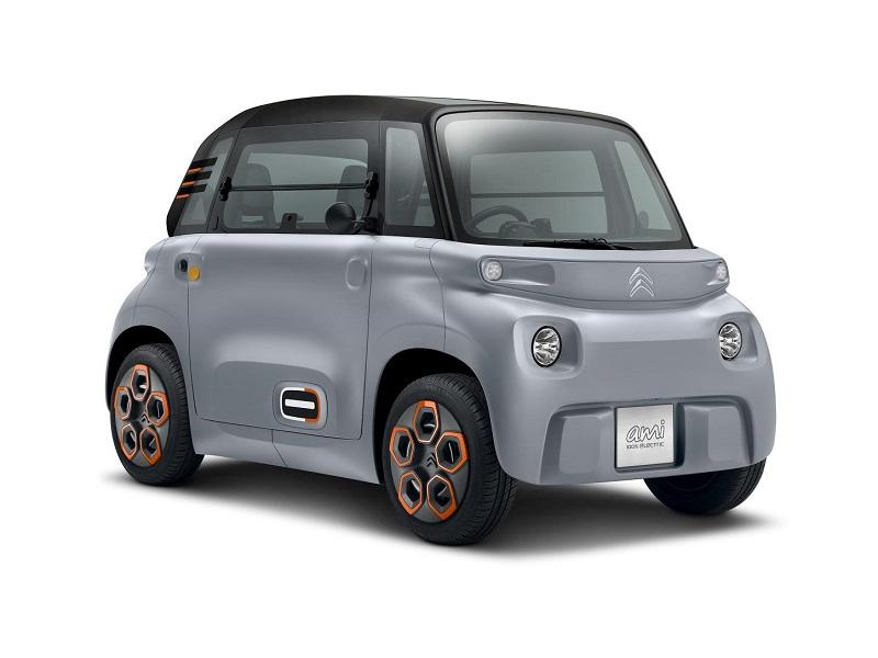 Citroen AMI, movilidad urbana 100% eléctrica