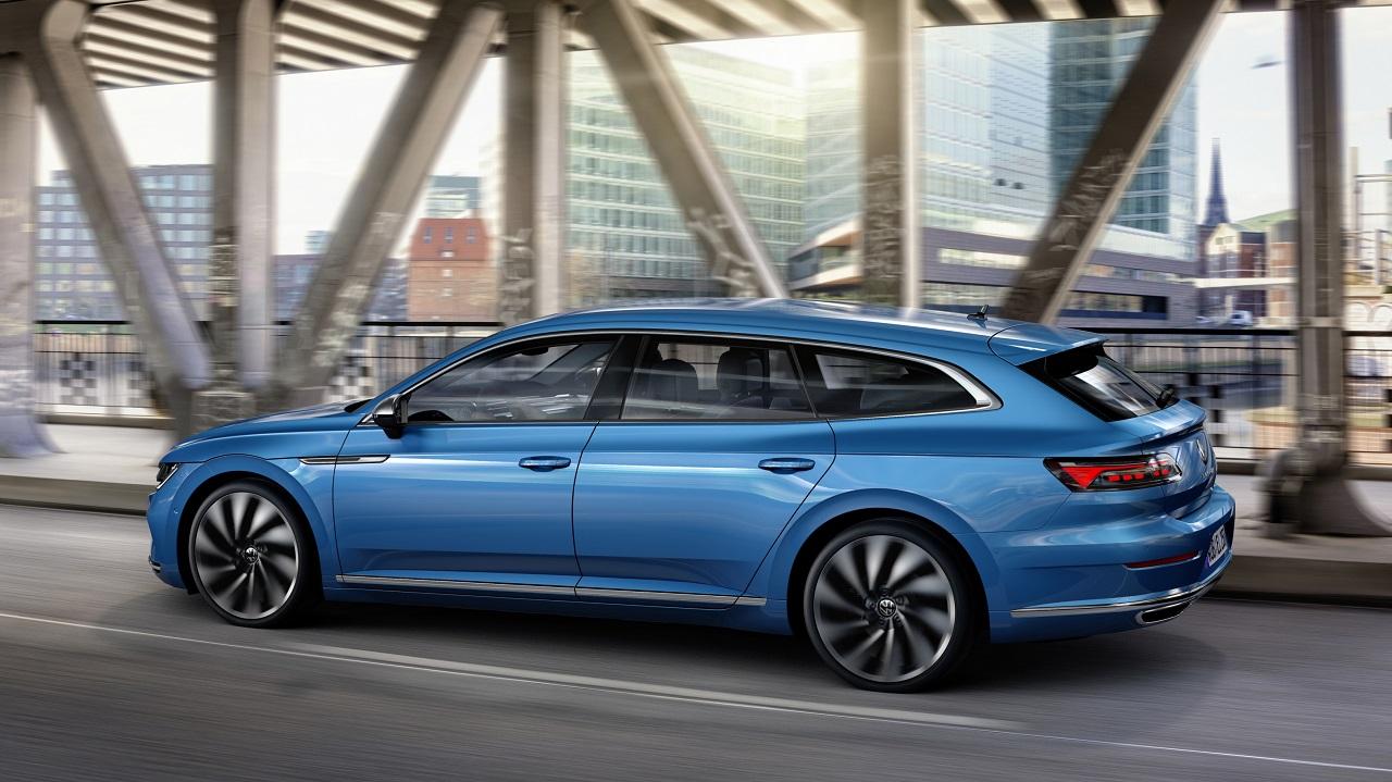 Nuevo Volkswagen Arteon ahora también con carrocería shooting brake