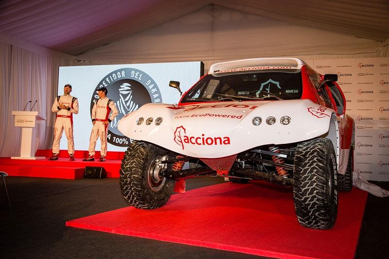 Especial AutoFM: Un coche eléctrico para correr el Dakar