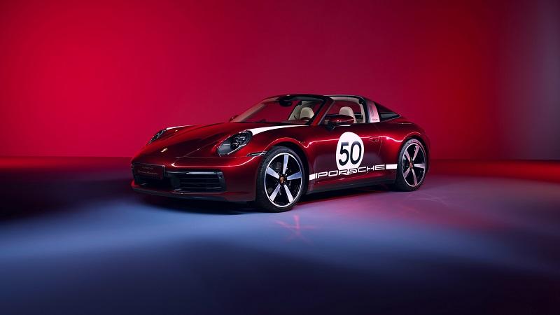 Porsche 911 Targa 4S, la reinterpretación de un clásico