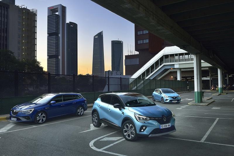 Renault presenta su gama E-TECH