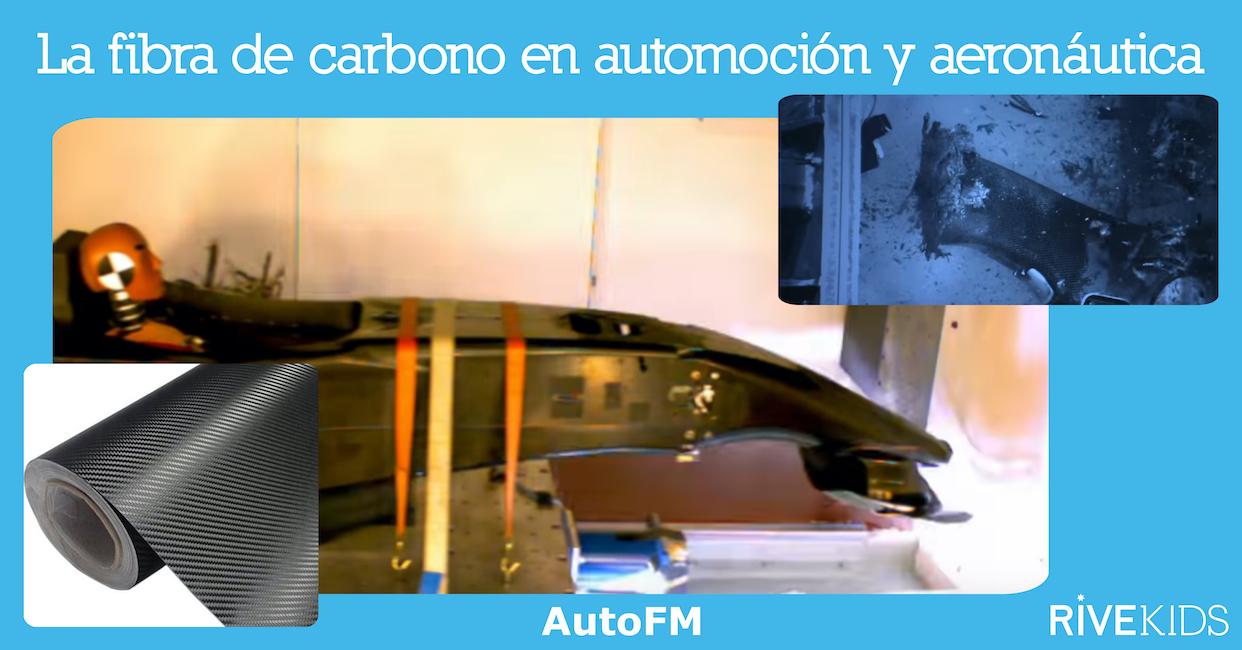 Fibra de carbono en automoción, aeronáutica y náutica