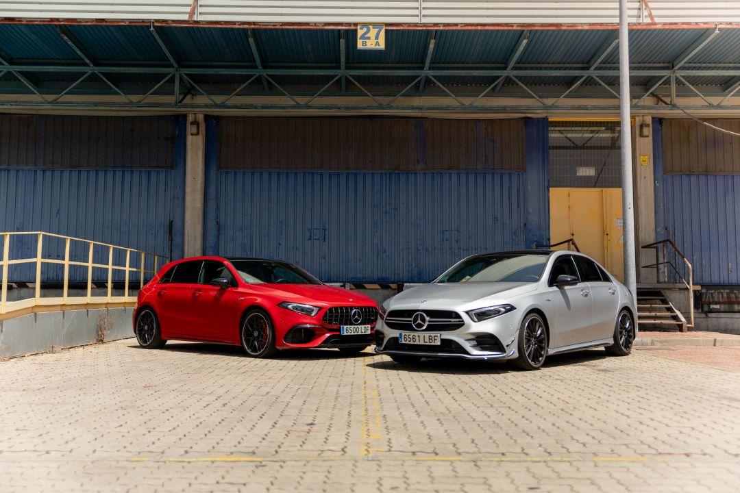 Mercedes-AMG A45 S y AMG A35