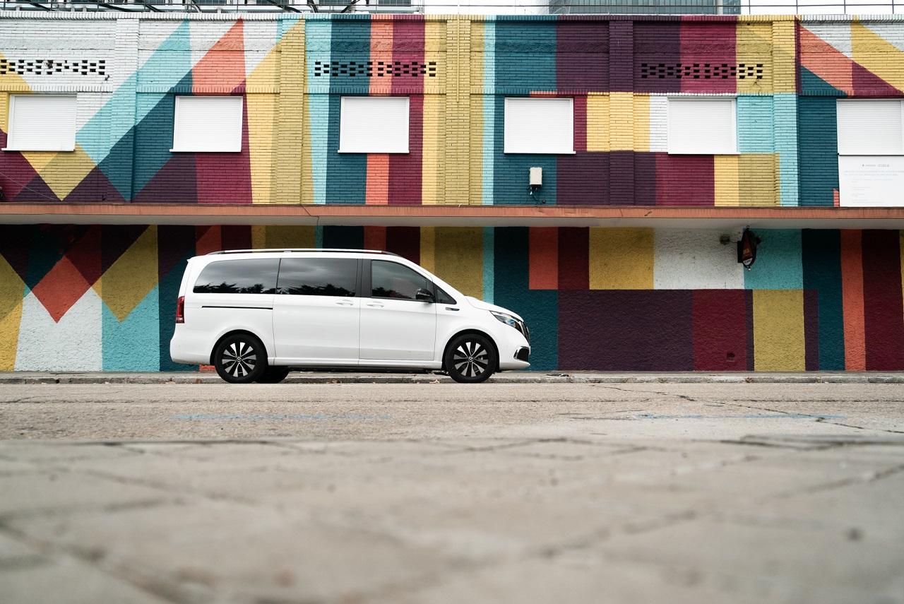 Mercedes Benz EQV: ágil, conectado y eléctrico