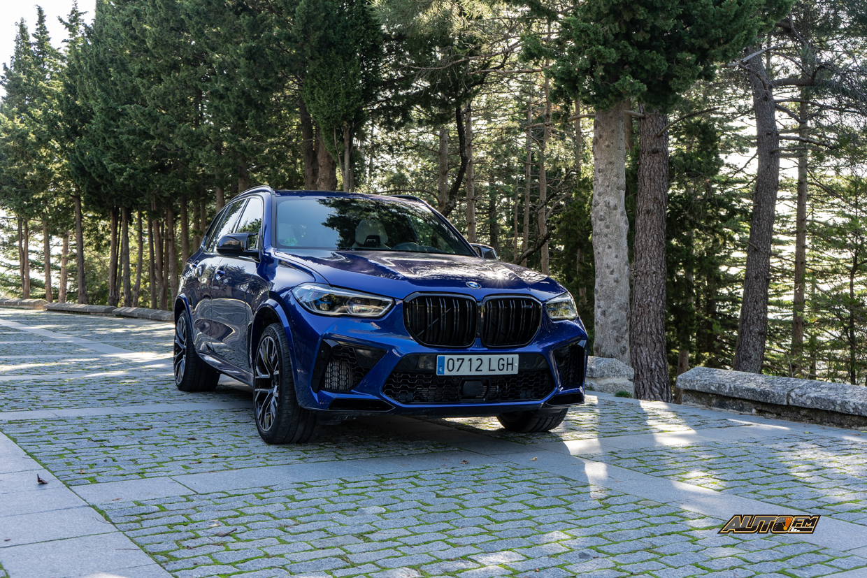 BMW X5 M Competition, sin palabras