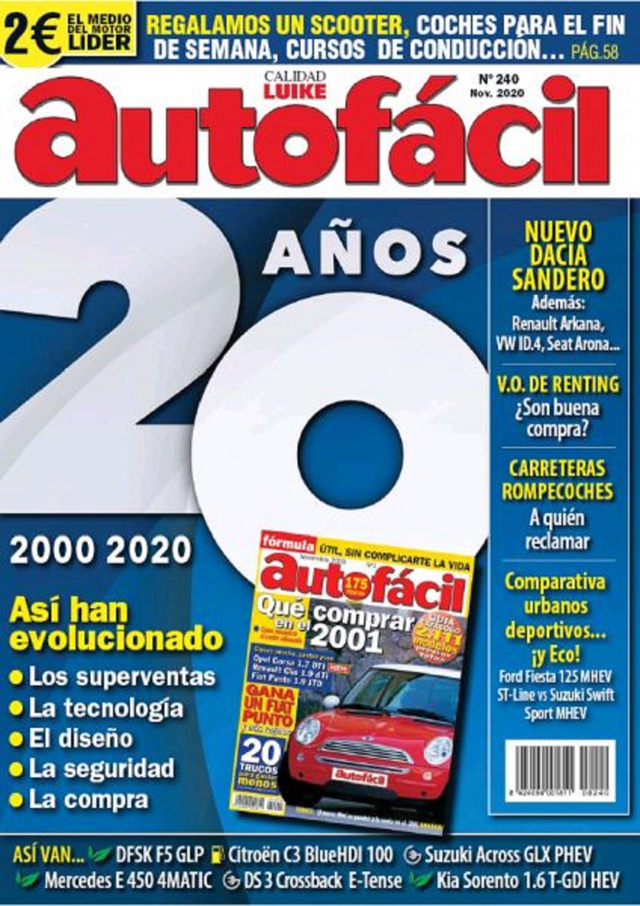 Especial AutoFM: Autofácil 20 años probando coches