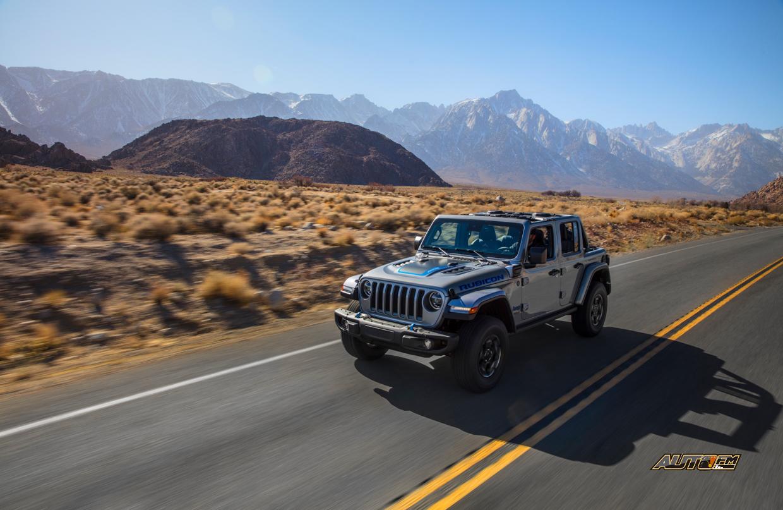 Jeep Wrangler 4xe, la electrificación avanza en el grupo