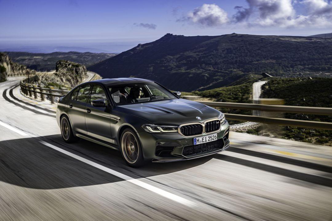 BMW M5 CS el más potente de la historia de BMW M