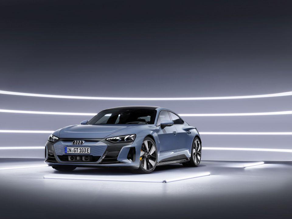 Audi e-tron GT, el Taycan de los cuatro aros