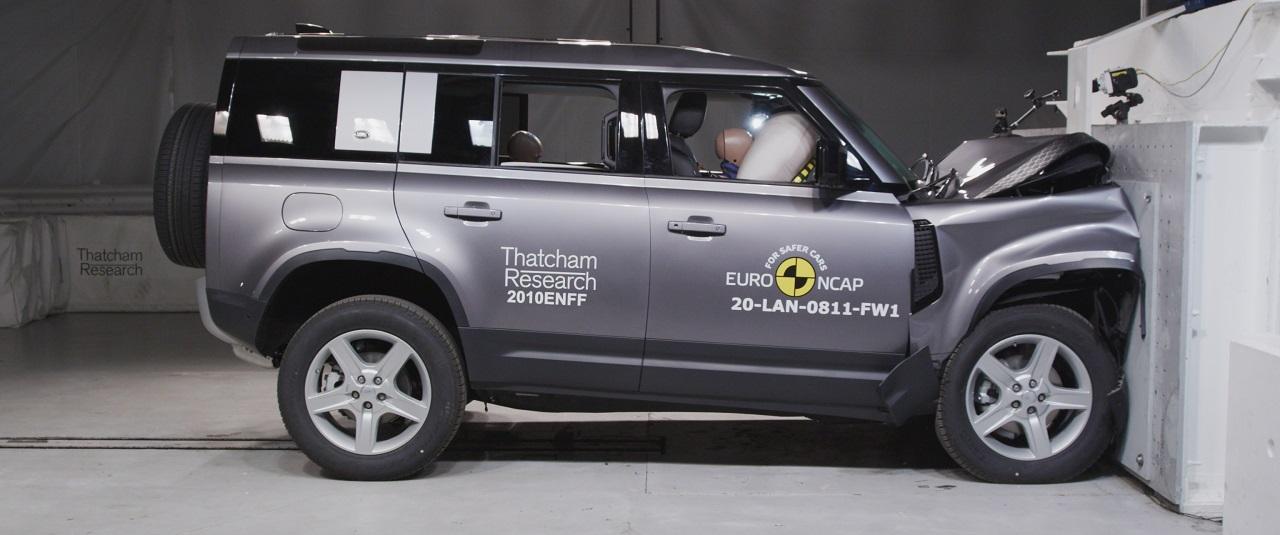 Informe seguridad: ¿Es seguro el Land Rover Defender?