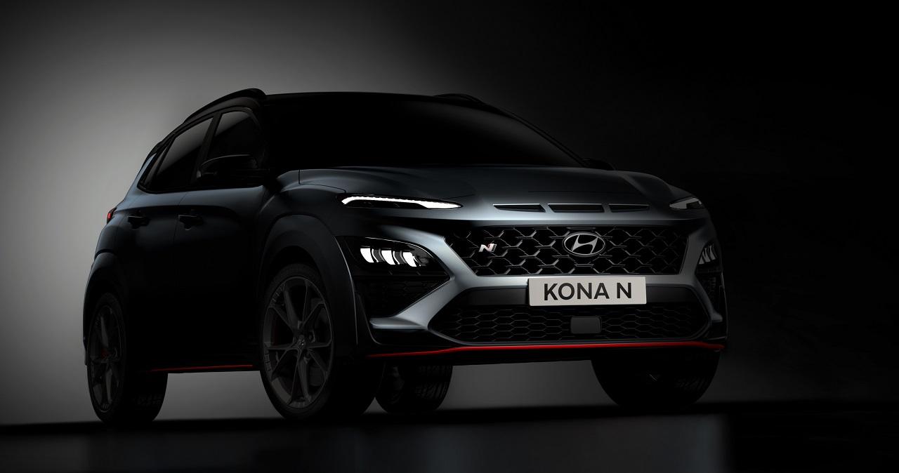 Hyundai nos enseña las primeras fotos teaser del nuevo KONA N