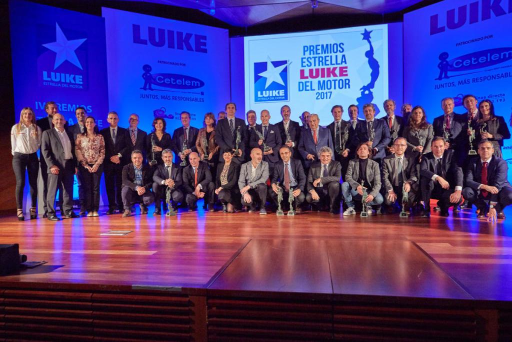 """Premio Estrella Luike del Motor al """"Coche de la Radio 2021"""" by AutoFM"""