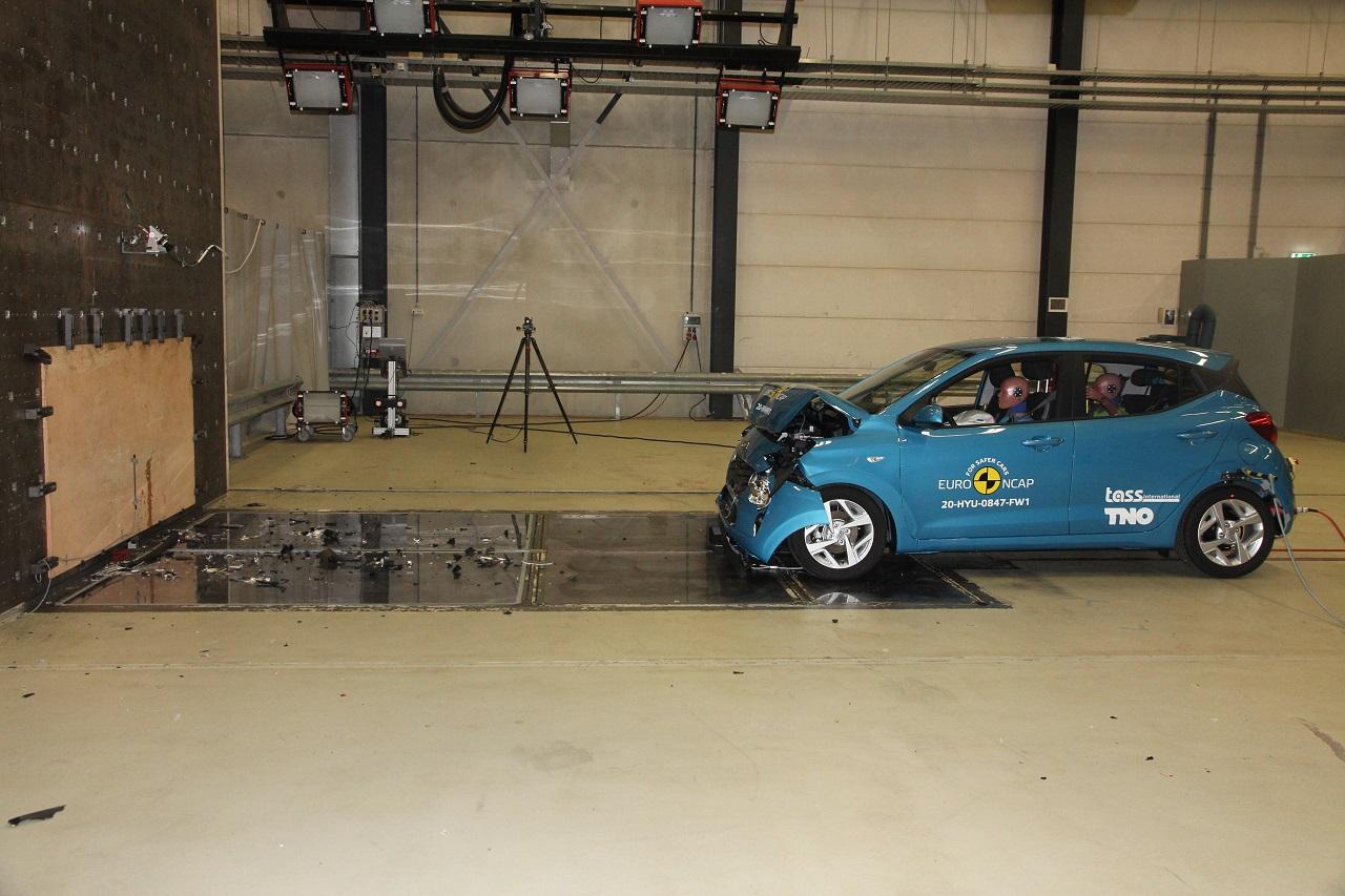 Informe de seguridad: ¿Es seguro el Hyundai i10?