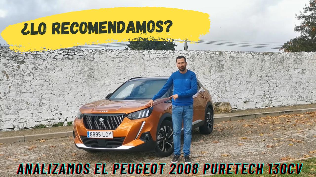 Prueba y opinión Peugeot 2008 Puretech gasolina