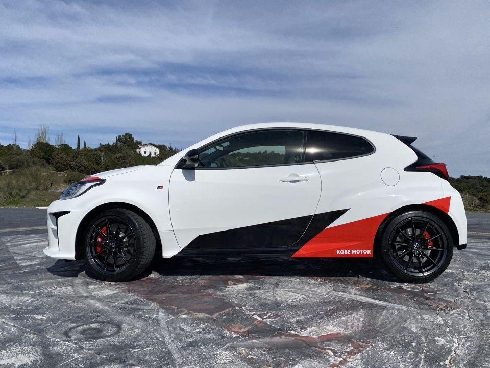Toyota GR Yaris un auténtico carreras-cliente