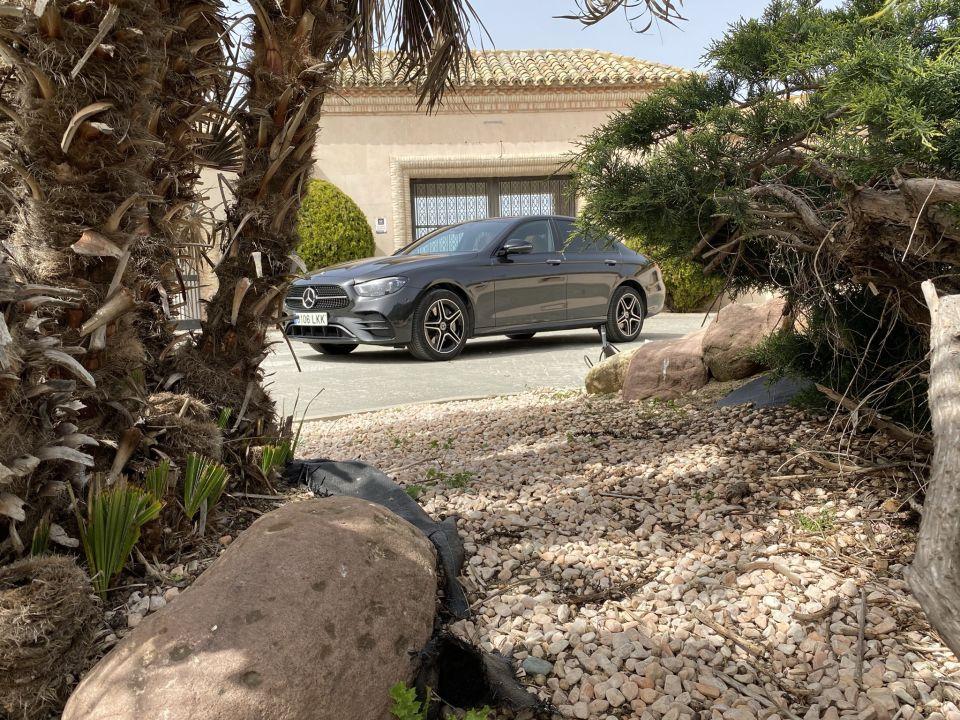 Mercedes E300de diésel enchufable