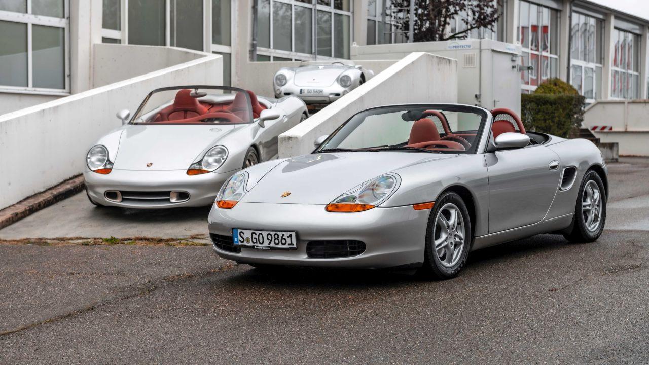 Historia del Porsche Boxster