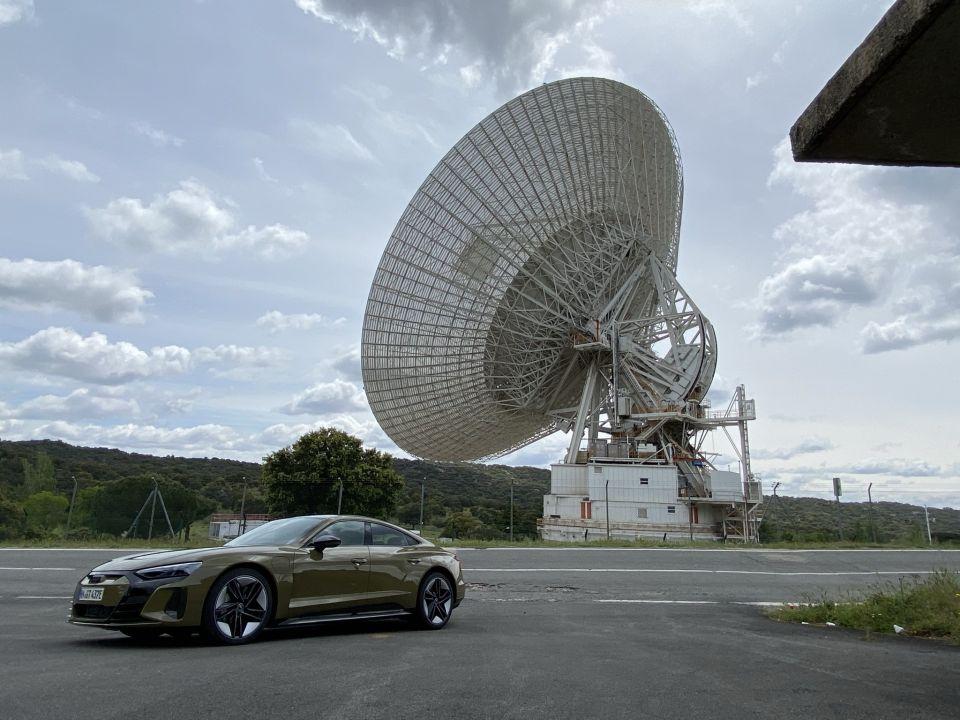 Audi RS e-tron GT la berlina que acelera como un F1